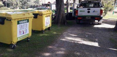 El reciclaje llega a los clubes, guarderías y barrios náuticos de San Fernando