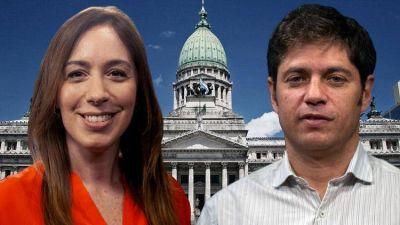 María Eugenia Vidal y Axel Kicillof se enfrentan en la batalla electoral más importante del país