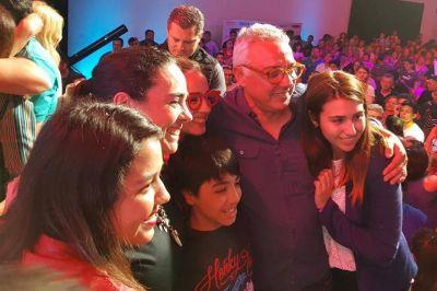 Zamora celebró el triunfo en las elecciones: