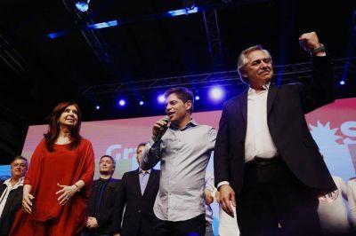 Por qué Matías Lammens no se subió al escenario con Fernández y Cristina Kirchner