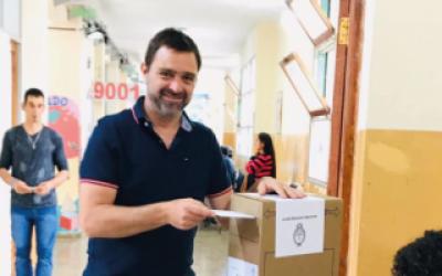 Resultados en Magdalena: Intendente Peluso fue reelecto con más de 20 puntos de diferencia