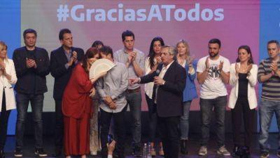 Cristina, Alberto y Kicillof, primeros indicios del nuevo poder