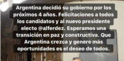 Los empresarios celebran el diálogo entre Macri y Alberto Fernández