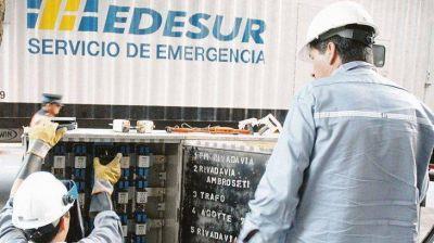 Edesur: facturación cayó 7% en el año por impacto de la crisis