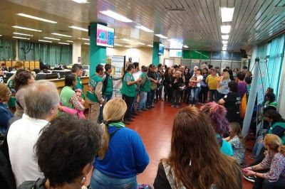 Los Municipales de Moreno paran por tiempo indefinido