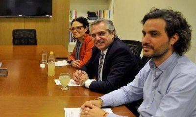 Leales y con pasta de funcionarios: el póker de Alberto para la transición