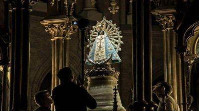 La estatua de la Virgen de Luján que estuvo en la guerra vuelve a la Argentina