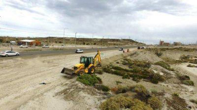 Avanzan las obras que proveerán de gas natural a 537 hogares en Comodoro Rivadavia