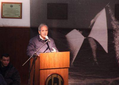 Palazzo habló de su acercamiento a la CGT y priorizó las