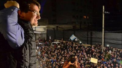 """Lucas Ghi: """"Confío en un traspaso de mando signado por la responsabilidad de Tagliaferro"""""""