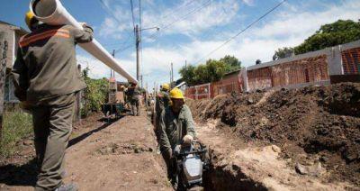 Aysa finalizó la obra de agua corriente en Tres de Febrero