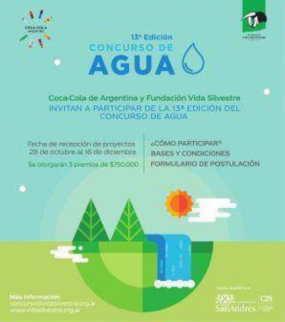 Coca-Cola y Fundación Silvestre lanzan concurso sobre el agua
