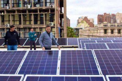 Habilitaron la planta de energía solar más grande de Córdoba