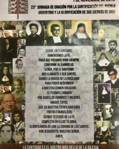 Jornada Nacional de Oración por la Santificación del Pueblo Argentino