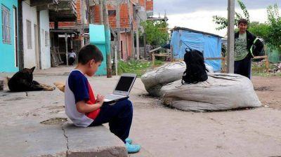 Más del 40% de los chicos argentinos sufre la falta de cloacas, gas natural y agua potable