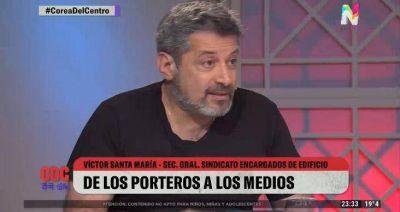 """Víctor Santa María: """"Nos queremos juntar para sacar al macrismo de Boca"""""""