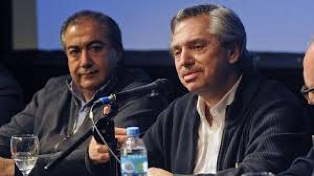 """Héctor Daer, de la CGT, tras reunirse con Alberto Fernández: """"Somos parte del gobierno que viene"""""""