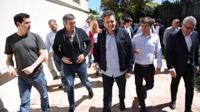 Kicillof se reunió con intendentes y les pidió austeridad en sus municipios