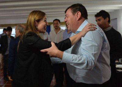 La gobernadora destacó ante intendentes el triunfo de Montenegro