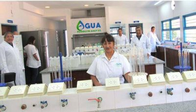 Agua Potable de Jujuy con tecnología de vanguardia