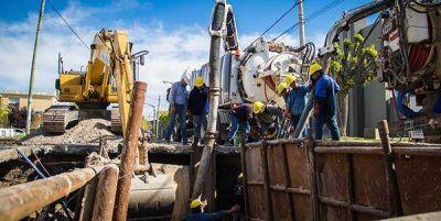 La Cooperativa Eléctrica reparó el sistema cloacal en Maipú y Belgrano