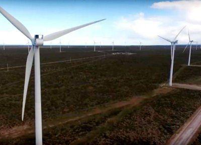 Vestas paralizó las obras de construcción del parque eólico
