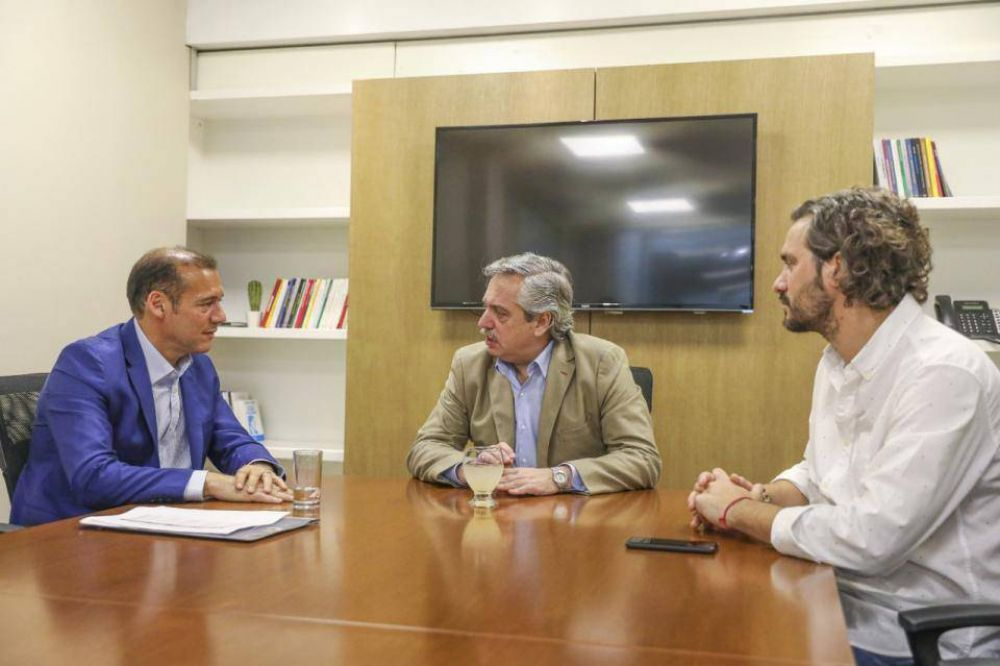 Omar Gutiérrez se reunió con Alberto Fernández y acordaron potenciar Vaca Muerta