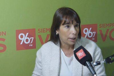 """Florencia Barcia: """"Voy a trabajar mucho con las instituciones de la Ciudad"""", dijo"""