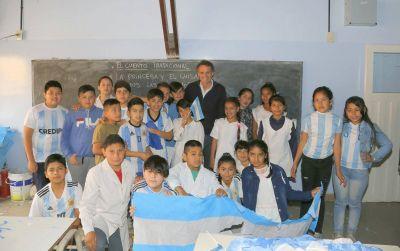 Katopodis remarcó su compromiso con la educación pública