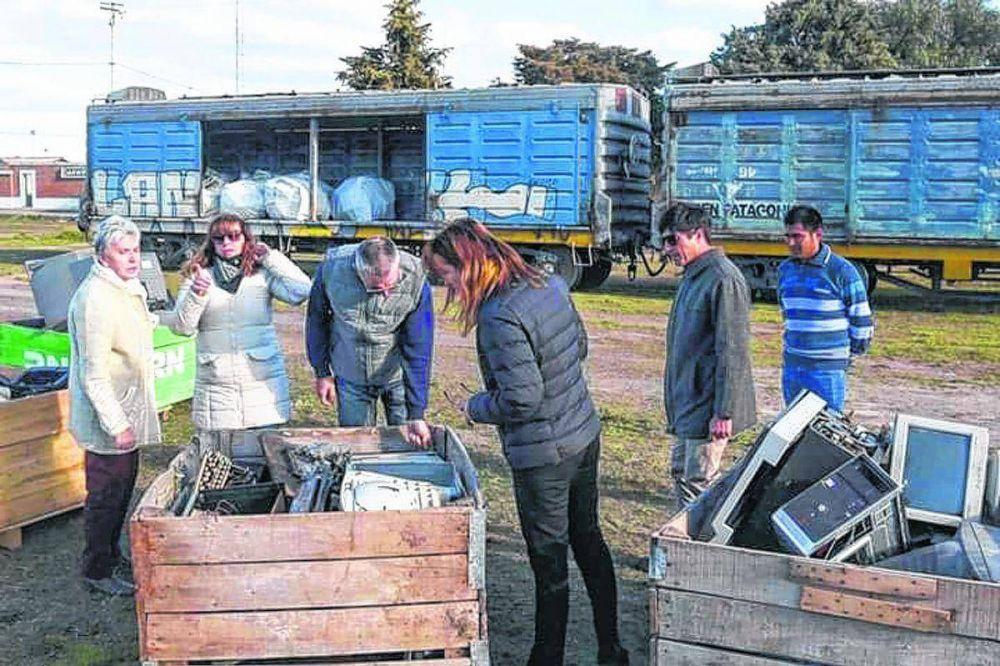 Reciclaje de basura electrónica récord: 200 mil kilos de TV, computadoras y otros aparatos