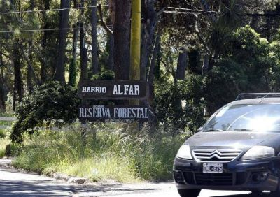 Alfar: La Municipalidad sigue sin dar respuesta por la obra y tala de arboles en la Reserva Forestal