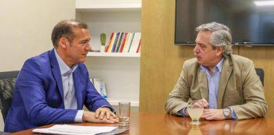 Alberto Fernández se reunió con el gobernador neuquino para analizar el desarrollo de Vaca Muerta
