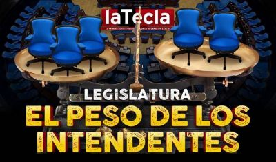Intendentes con poder en la Legislatura