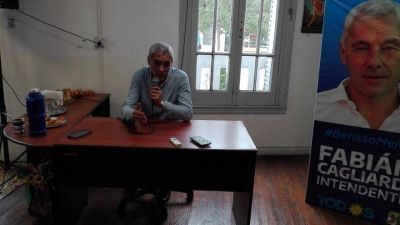 Berisso: El intendente electo Fabián Cagliardi realizó un diagnóstico crítico del municipio