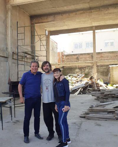 Dos campeones del mundo visitaron el Club San Juan Bosco en la Villa La Carcova