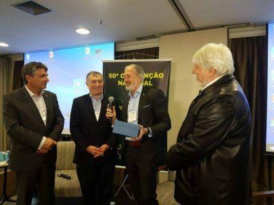 El presidente de la DAIA, Jorge Knoblovits, disertó en la 50° Convención Nacional de la Confederación Israelita de Brasil