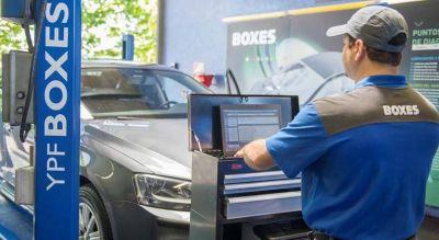 Tras alcanzar el 40% del mercado de lubricantes, YPF se propone llegar a los 450 Boxes para 2025