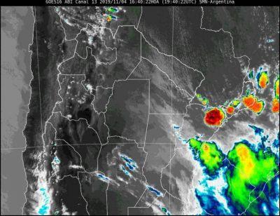 Misiones bajo alerta por tormentas fuertes