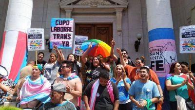 Es ley el cupo laboral y el Estado de Santa Fe deberá incorporar cerca de 50 mujeres y varones trans en los próximos meses