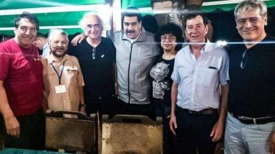 """Nicolás Maduro les dijo a los sindicalistas argentinos en La Habana que quiere reunirse """"cuanto antes"""" con Alberto Fernández"""