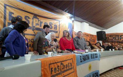 Fernanda Boriotti fue electa nueva presidenta de la FESPROSA