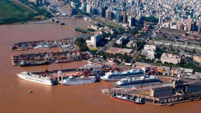 Denuncian que el Gobierno quiere traspasar el Puerto de Nación a Ciudad