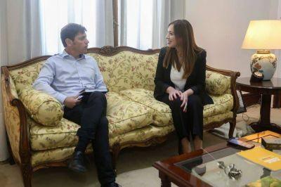 Vidal y Kicillof prepararán en conjunto el presupuesto 2020