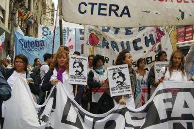 Sindicatos docentes de la Ciudad realizaron paro por la reapertura de la paritaria