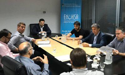 Biss realiza gestiones ante Enohsa por obras hídricas: ampliación de la Planta Potabilizadora y nuevo acueducto