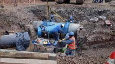 Agua Potable de Jujuy finalizo exitosamente una gran obra hídrica sobre el Rio Guerrero