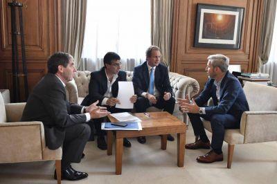 La provincia gestionó ante Nación fondos para garantizar la continuidad de obras