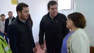 Montenegro le ofreció la Secretaría de Salud a la directora del Materno Infantil