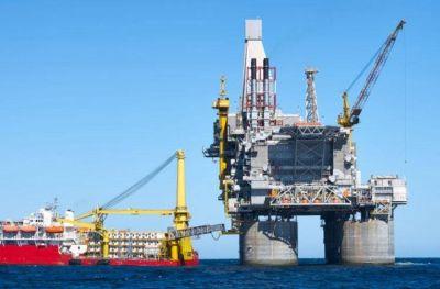 Extracción de petróleo offshore:
