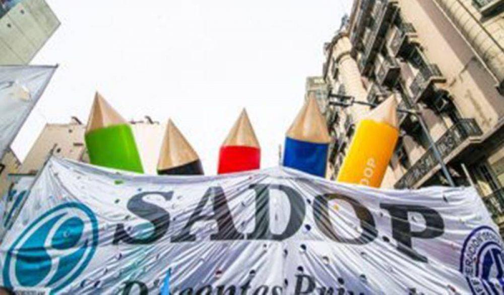 SADOP: acordó el pago de la asignación no remunerativa
